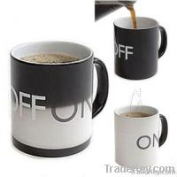 Fancy Magical ON /OFF Color Changing Hot Cold Heat Sensitive Mug Ceram