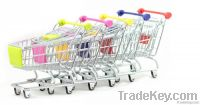 Hot selling Mini trolley/shopping cart for supermarket, mini shopping c