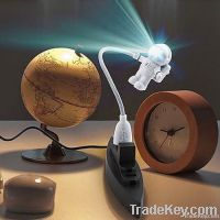 USB power led light lamp, creative night light with astronaut shape