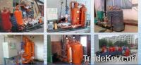 boiler steam and condensing water collector
