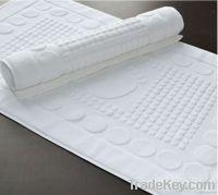100% Cotton Bath Mat Eboss