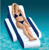 Inflatable Deluxe pool lounge chair