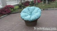 All Weather Cane / Resin Wicker Rocking Chair For Living Room