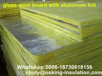 cheap price glass wool board with aluminum foil china factory
