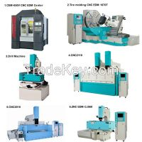 cnc edm small hole drilling machine