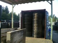 Used tire casing and Used tire