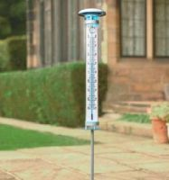 Thermometer Solar Light