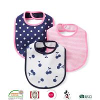 Good quality baby bibs with print 100% cotton Baby bibs with print