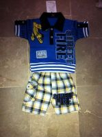 Kid's Polo Shirt with Shorts Set
