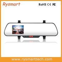 Hottest Rearview Mirror Car DVR Black Box with Super Night Vision and HDMI Output
