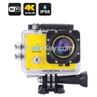 Trade Assurance Sports Camera 4K 2015 New 4K Wifi Action Camera 2.0inch Screen 1080p 60fps YM-Q3H