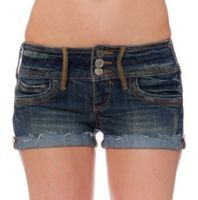 Denim Shorts and Cotton twill shorts