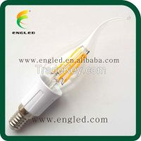 Patent Product Edison Style Replace Incandescent Bulb C35 F35 B35 E14 E12 2W 3W 4W dimmable and non-dimmable  Led Filament Candle Bulb