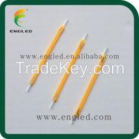 Patent Product CE&RoHS certified high power Blue sapphire ceramic chips E14 E12 E27 E26 1w COG COB LED filament