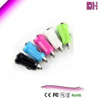 1A/2.1A USB car charger latest hot sale colorful new car charger