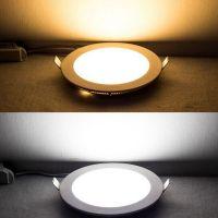 2014 New design led round panel light/ led panel down light