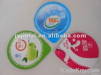 Alluminum Foil Lid For Yogurt Package