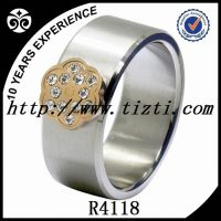 Fashion  Stainless steel  ring Jewelry