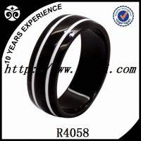 enamel titanium rings for men