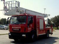 Boom-Type Fire Truck