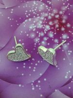 Silver Stud Earrings 925 italy
