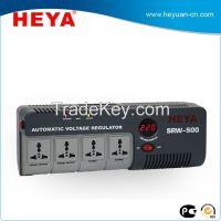 socket type relay motor stabilizer/auto volt regulator for outlet