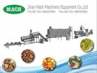 pet dog fish food snack food extruder processing machine