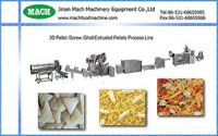 2D 3D pellet snack food