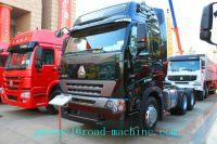 Promo SINOTRUK 6X4 Prime Mover Truck 371HP , Red Unloading Trucks