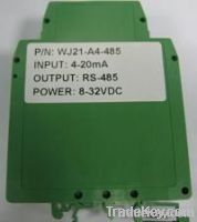 4-20ma to RS485 Converter, A/D Converter with Modbus