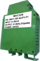 WAYJUN Green 3000V isolation analog signal to Frequency Signal Converter/Transmitter