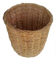 Basket BAMBOO RATTAN WOOD WOODEN fashionable design handles/ Natural home storage oranization Wood Bamboo handmade Basket