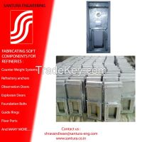 observation and access furnace doors