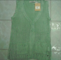 Women's Sleeveless V-Neck Sweater