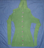 Green Full Sleeves Sweater