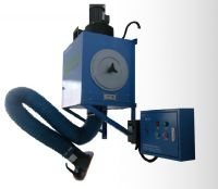 Portable welding fume extractor portable gas treatment