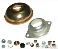 Sheet metal parts and washers