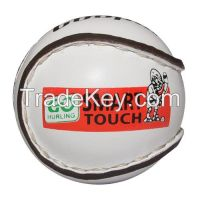 Hurling/Sliotar Balls-Go Game Sliotars-Leather Made Inside Core-Hand Stiched