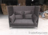 Alcove high back sofa