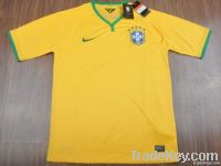 Thailand AAA Brazil 2013/14 World Cup Home Soccer Jerseys