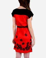 SSDR37-Floral Pattern Shift Dress