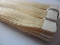 wholesale virgin remy china human hair 5A grade tape hair extension