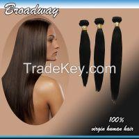 Brazilian Virgin Hair Straight Unprocessed Virgin Hair Extension