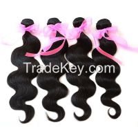 6A Brazilian Virgin Hair Weaves 4Pcs/Lot Bundles Unprocessed Virgin Brazilian Body Wave Wavy Brazilian Human Hair