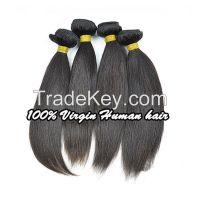 Brazilian virgin hair straight 3pcs Lot FS hair products 100% unprocessed virgin human hair weave Brazilian straight hair