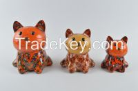 Funny cat home decorate money bank money box coin bank children Gift animal Shape