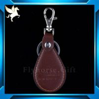 Wholesale high quality leather key chain