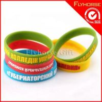 Wholesale high quality promotion silicone wristband