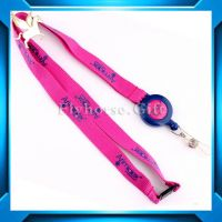 Popular  cheap fashion polyester lanyard