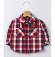 Red/Navy Check Shirt